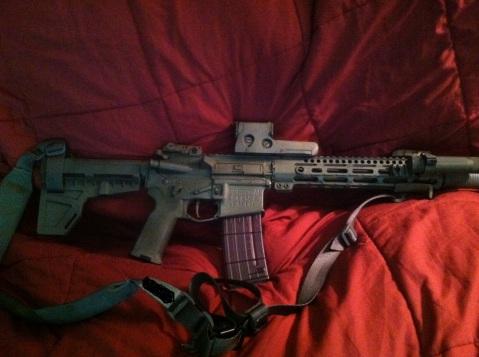 AR15 10.5 PIST.
