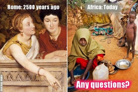 ROME-VERSUS-AFRICA-TODAY