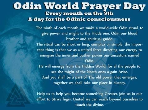 Odin Prayer Day